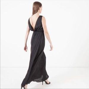 Modern Citizen | Ellie Deep V Back Maxi Dress